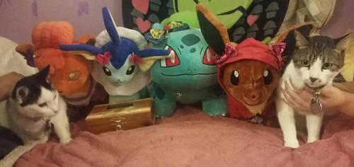 All of my babies together by DisneyandZimFanatic