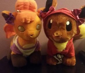 Violet and Ellie by DisneyandZimFanatic