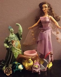 Some of My Hercules Stuff by DisneyandZimFanatic