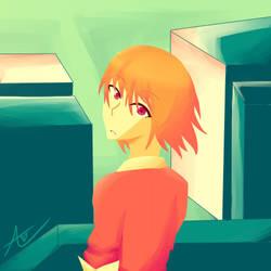 Kanako's Eyes by Aikansei