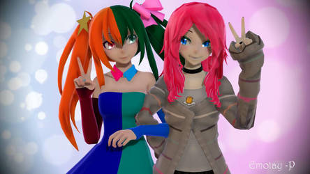MikuCoolMix and Emotay -P by Emotay-P
