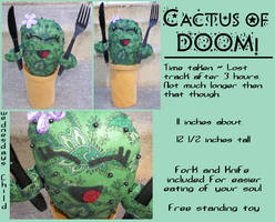 Cactus of Doom by InspectorZenigata