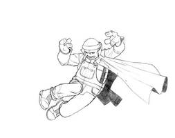 tmnt sketch 1 by georgebough