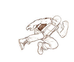 tmnt sketch Raph by georgebough
