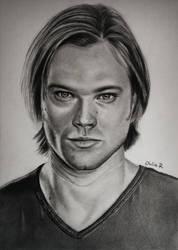 Sam Winchester/Jared Padalecki by Julia-R-Ch