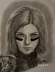 Alita: Battle Angel by Julia-R-Ch