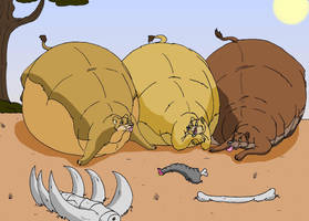 Big meal by HectortheWolf