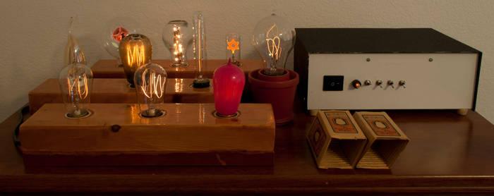 Light Bulb Display by adamlhumphreys