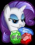 Rarity: 'Got gems?' by adamlhumphreys
