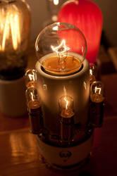 Lighted Light Bulb Socket by adamlhumphreys