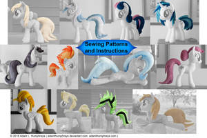Pony Mane and Tail Patterns 11 Pack! by adamlhumphreys