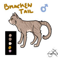Contest- Brakentail Character Design by TheFallenWhisper