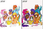 MLP Cosplay (Re-Colour) by DracoJane7