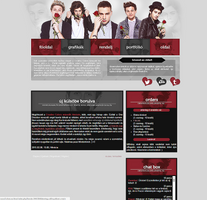 One Direction Design by Nikrecia