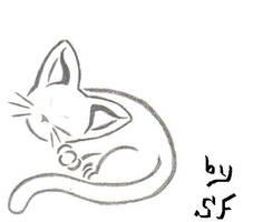 Neko tattoo by Shade-Fox