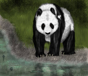 Panda by YuFlauschefuchs