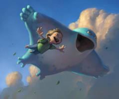 Cloud Companions by Artsammich