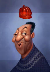 King Cosby Of Jello Land by Artsammich