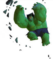 HULK SMASH by Artsammich