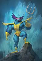 MOTU: Mer-man by Artsammich