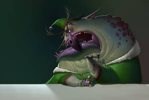 Bad Elf by Artsammich