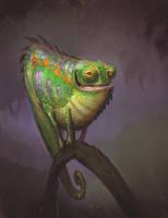Chameleon by Artsammich