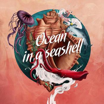 OCEAN IN A SEASHELL by grohsARTig
