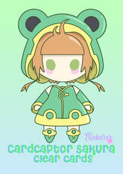 card captor sakura clear card frog outfit by ninslayer