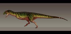 Majungasaurus crenatissimus by Paleocolour