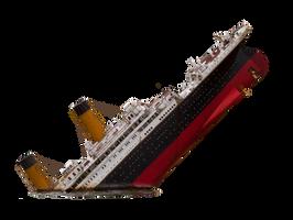 Titanic PNG Stock by pixelmixtur-stocks