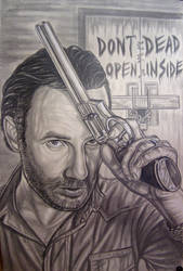 Walking dead- Rick Grimes-Andrew Lincoln by vadim79vvl