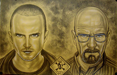 Breaking Bad-W.White and J.Pinkman by vadim79vvl
