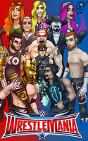 Wrestlemania XXXII by Hlontro