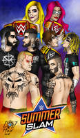 SummerSlam 2016 by Hlontro