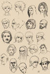 980 Th Sketches by M053AB