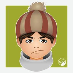 Grumpy boy by M053AB