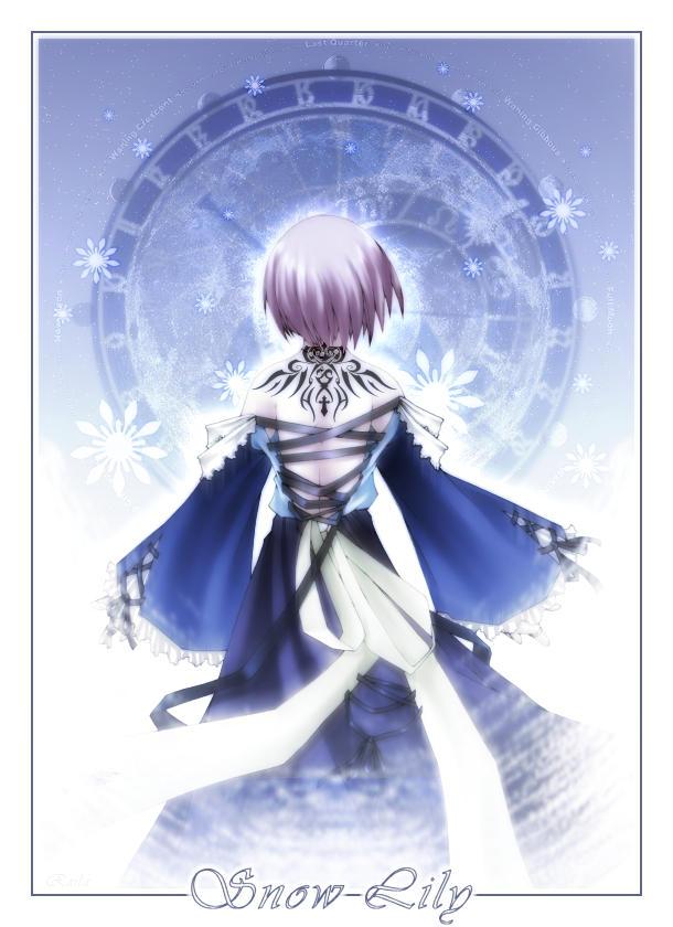 - Snow Lily - by raila
