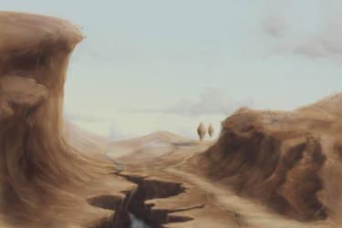 Vyria: Landscape 3-31-13 by Jio-Derako