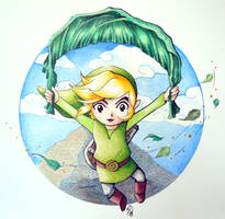 Flying Link colored by L3naP