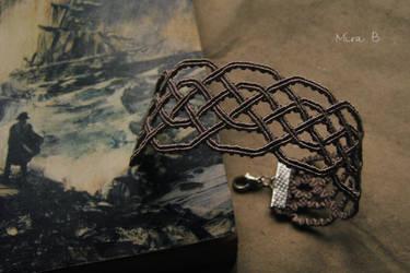 Celtic Inspired Bracelet by releaserevolverenew