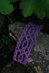 Celtic Inspired Micromacrame Bracelet by releaserevolverenew
