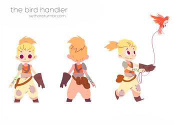 The Bird Handler by Sethard