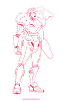 Samus Sketch by Sethard