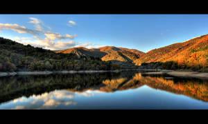 The lake by zewlean