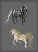 Equine adoptables - Open! by Channeling-Spirits