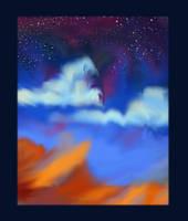 Desert Sky by Channeling-Spirits