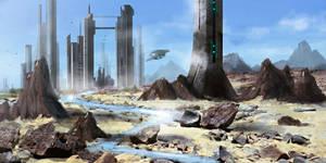 Refinery City by dustycrosley