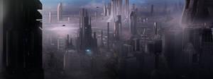 Matte Concept: Sci-FI by dustycrosley