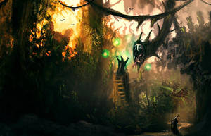 Jungle Leech by dustycrosley