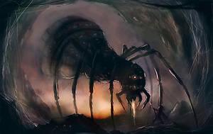 Itsy Bitsy Spider by dustycrosley
